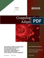 Coagulopatías Adquiridas - Monografía