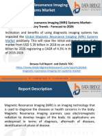 Global Magnetic Resonance Imaging (MRI) Systems Market– Industry Trends - Forecast to 2026