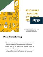 Pasos para realizar un plan de marketing - TRABAJANDO