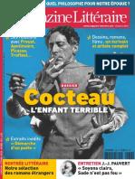 Le Nouveau Magazine Littéraire - Cocteau L'Enfante Terrible