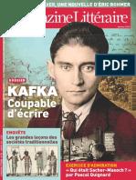Le Nouveau Magazine Littéraire - Kafka Coupable d'Écrire