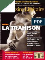 Le Nouveau Magazine Littéraire - La Trahison