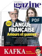 Le Nouveau Magazine Littéraire - Langue Française - Amour Et Guerres