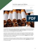 02/Enero/2020 Incrementa el precio de los cigarros en México