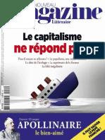 Le Nouveau Magazine Littéraire - Le Capitalisme Ne Répond Plus
