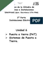Sistemas de PAT (Puesta a tierra) 2018