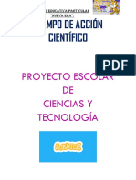 proyecto escolar uene