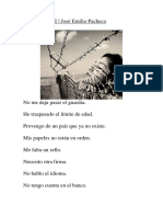 INDESEABLE - José Emilio Pacheco