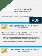 COSTOS BENEFICIOS Y RIESGOS DE NUESTRA PARTICIPACIÓN_30 SEP 2019