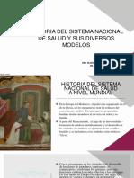 HISTORIA DEL SISTEMA NACIONAL DE SALUD Y SUS