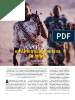 Conflictos del África Subsahariana y su origen