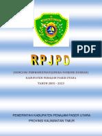 Rencana Pembangunan Jangka Panjang Daerah 2005 - 2025
