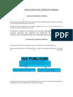 Generalidades del derecho romano _ instituciones jurÍdicas del derecho romano