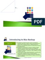 Introduction to Bizz Backup Co., Ltd.