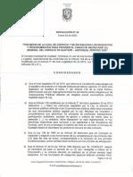 RESOLUCION N°02 enero 03 de  CONVOCATORIA SECRETARIA