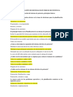 BANCÓ DE PREGUNTAS PLANIFICACIÓN SEP