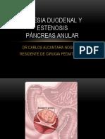 Atresia Duodenal y Estenosis