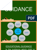 TYPES OF GUIDANCE
