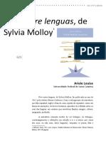 Ariele Louise - Vivir entre lenguas de Sylvia Molloy