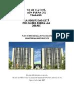Plan de emergencia y Evacuacion Aires Nuevos