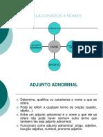 Adjunto Complemento e Predicativo_diferenças