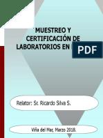 CHARLA MUESTREO Y CERTIFICACION 03-18