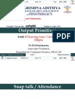 1.1 POINTS & LINE - output primitive.ppt