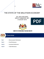 State of the Malaysian Economy_ELF Presentation_LSE_OKM_3August2019