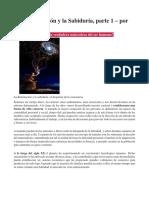 LA ILUMINACION Y LA SABIDURIA-ESCUELAS INICIATICAS-1Y2