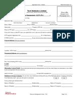 Tech M Application Form.doc