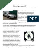 Kenapa idle bisa naik turun (rpm ngayun)___ – automotive online