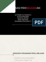 PPT Organisasi pembelajaran