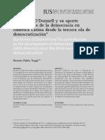 Guillermo O'Donell y su aporte a la Democracia en América Latina - Hernán Pablo Toppi