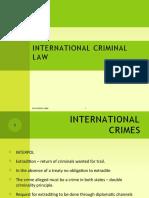 International Criminal Law & Terrorism