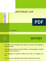 International Humanitarian and Human Rights Law
