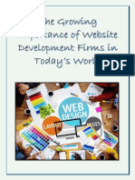 The Growing Importance of Website Development Firms in Today's World