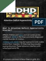ADHD report joy
