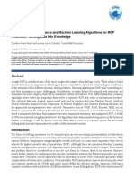 Application of Data Science and Machine Learning Algorithms for ROP Prediction Turning Data into Knowledge