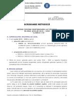 Scrisoare_metodica_2019-2020_Clasele_I-IV_ISJ_Dambovita