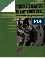 29435920 Tecnicas Cualitativas de Investigacion Social