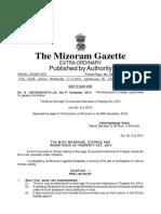 Mizo Marriage, Divorce and Inheritance of Property Act, 2014