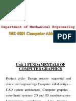 CAD PPT-UNIT 1