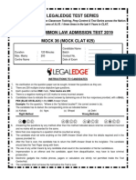 mock clat 25 legal edge
