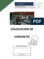 4. CDHM.SGC.PO.04 Colocacion de concreto