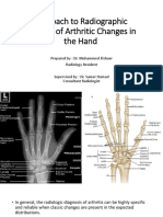 Approach to Radiographic Analysis of Arthritic Changes in the Hand.pptx