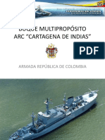 ARC CARTAGENA DE INDIAS  CARACTERISTICAS
