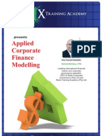 Applied Corporate Finance Brochure