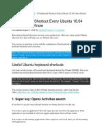 linux shotcut key1.doxt.docx