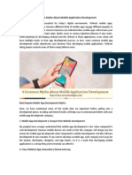 8 Common Myths About Mobile App Development