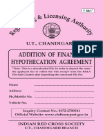 AdditionofFinanceHypothecation